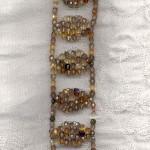 bernsteinblätterarmband